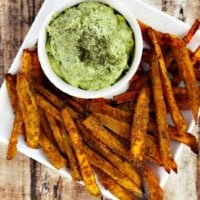 Lectin-Free Vegan Spicy Turmeric Oven-Baked Sweet Potato Fries | The Healthy Family and Home