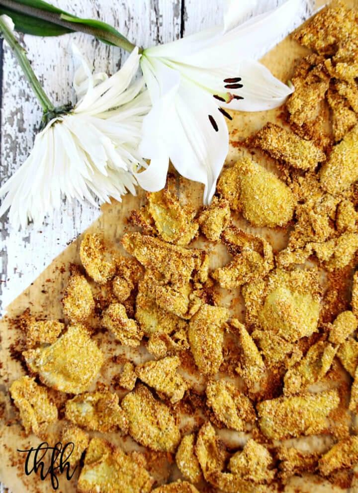 "Gluten-Free Vegan Oven-Baked ""Fried"" Artichokes"