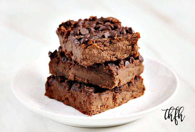 Gluten-Free Vegan Flourless Chickpea Brownie Fudge | The Healthy Family and Home
