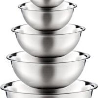 Stainless Steel Mixing Bowls - Set of 6