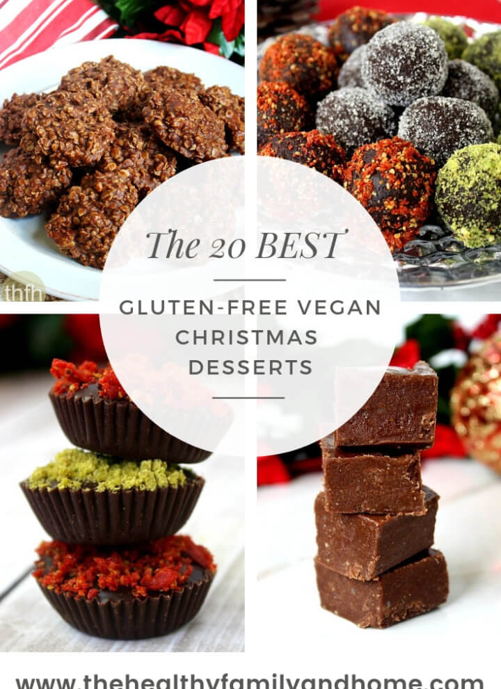 The 20 Best Healthy Gluten-Free and Vegan Christmas Cookies and Desserts