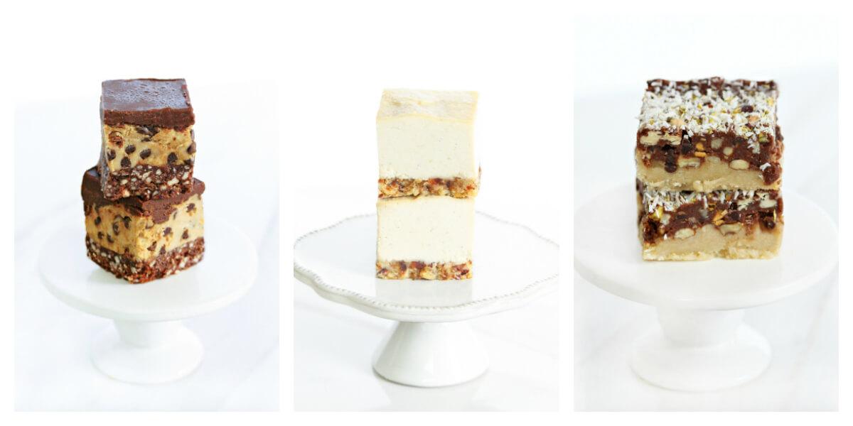 Three No-Bake Vegan + Gluten-Free Desserts from the CLEAN DESSERTS Cookbook by Karielyn Tillman