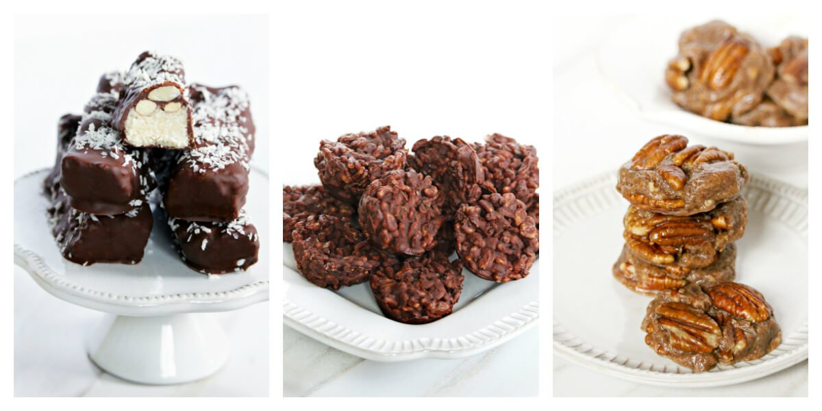 Three No-Bake Vegan + Gluten-Free Desserts from the CLEAN DESSERTS Cookbook by Karielyn Tillman