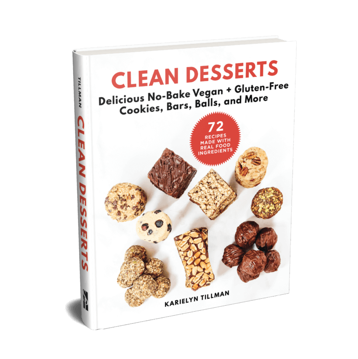 CLEAN DESSERTS Cookbook