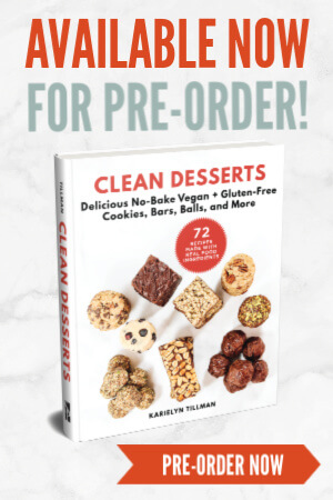 CLEAN DESSERTS Cookbook Pre-Order | The Healthy Family and Home