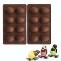 Silicone Easter Egg Mold (2-pack)