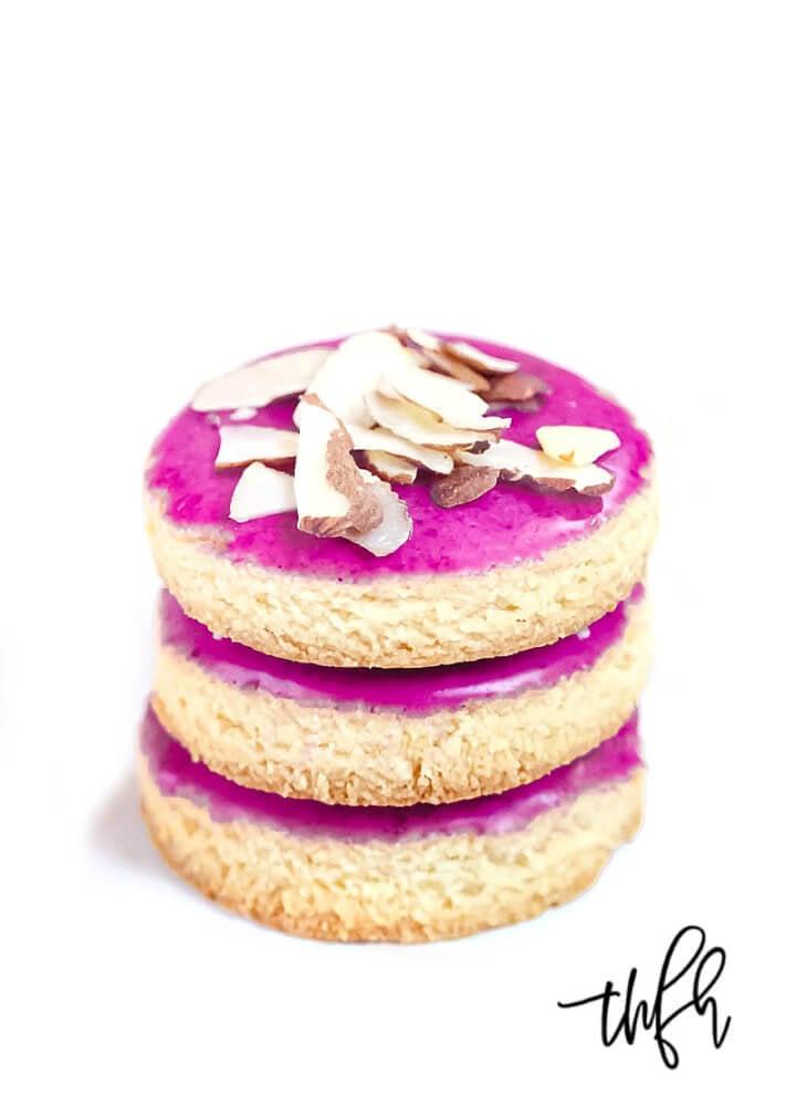 Gluten-Free Vegan Flourless Iced Cut-Out Cookies