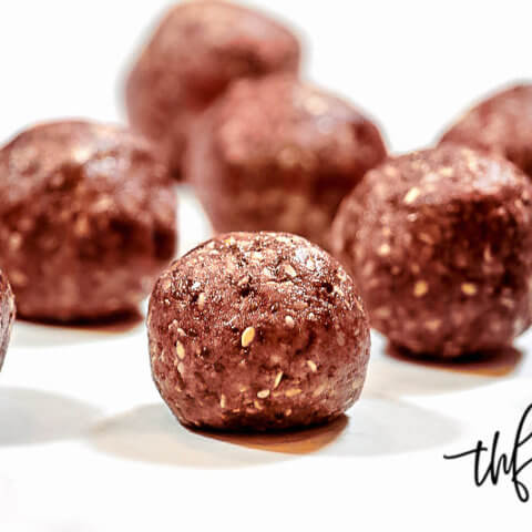 Gluten-Free Vegan Healthy Triple Seed Energy Balls