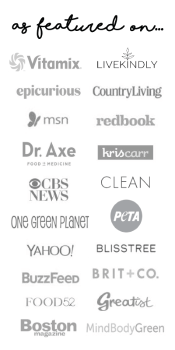 Collage of all the websites The Healthy Family and Home have been featured online