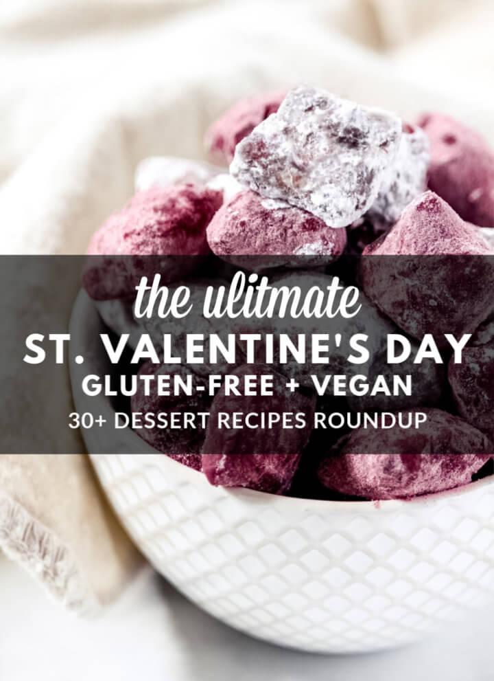 Gluten-Free Vegan Valentine's Day Dessert Recipes Roundup