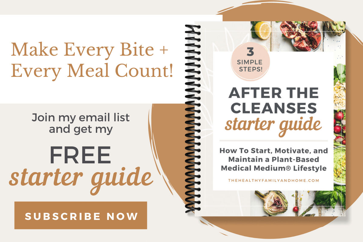 Subscribe To Newsletter | The Healthy Family and Home