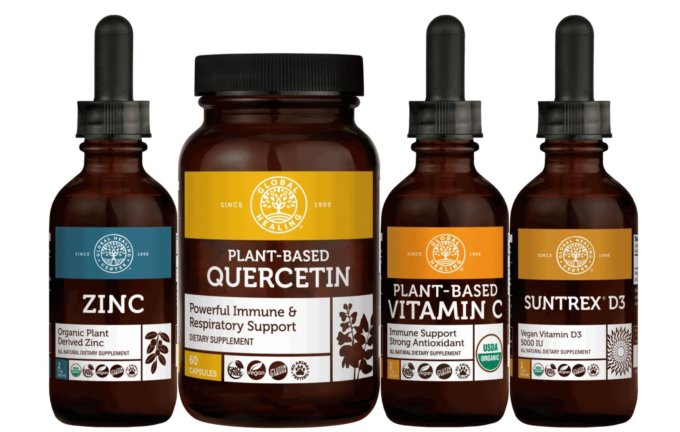 Product image of Global Healing Center's Immune Boost Bundle