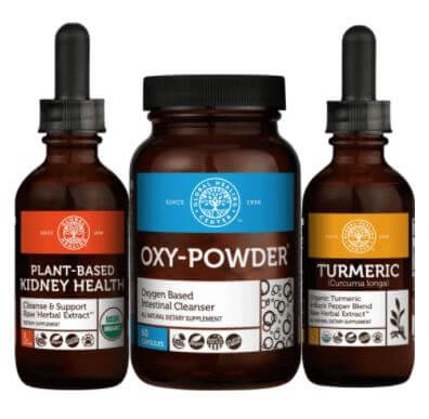Product images of Global Healing Center's Kidney Cleanse Program™