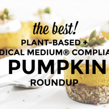 Mini pumpkin cheesecakes with text overlay