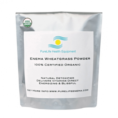 Enema Wheatgrass Powder | The Healthy Family and Home